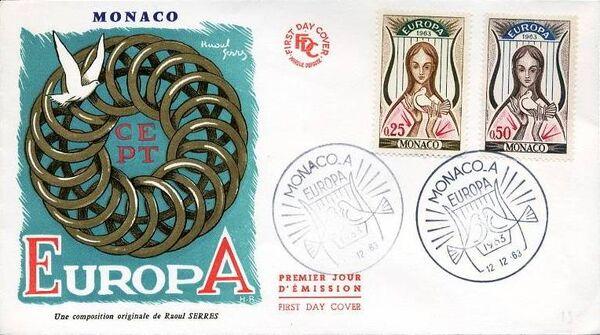 Monaco 1963 Europa e