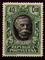 Portugal 1925 Birth Centenary of Camilo Castelo Branco n