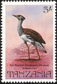 Tanzania 1982 Birds c
