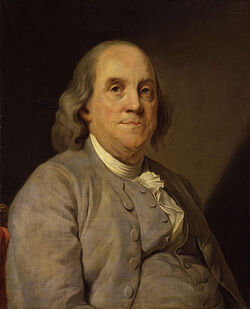 485px-Benjamin Franklin by Joseph Siffred Duplessis