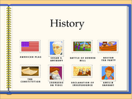 2 history stamps