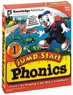Jumpstart phonics 1999 boxart