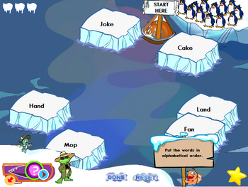 Image of Save the Penguins.