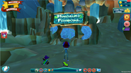 Minisaurs fishbowl entrance