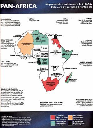 Pan-Africa map