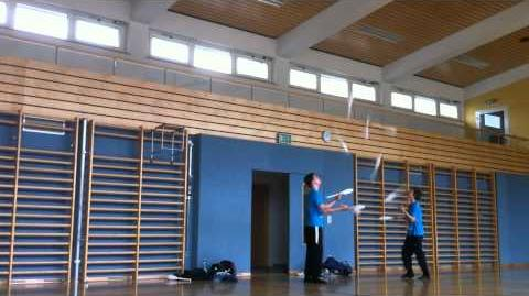 Juggling with Florian Canaval