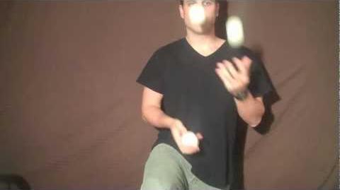 Juggling Trick Tutorial - Under The Leg