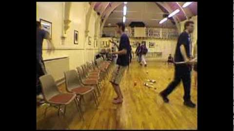 Ball Juggling 2001 to 2003 - Luke Burrage's Thing on the Net Archive
