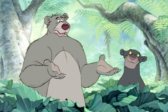 File:Baloo and Bagheera (Disney).jpg