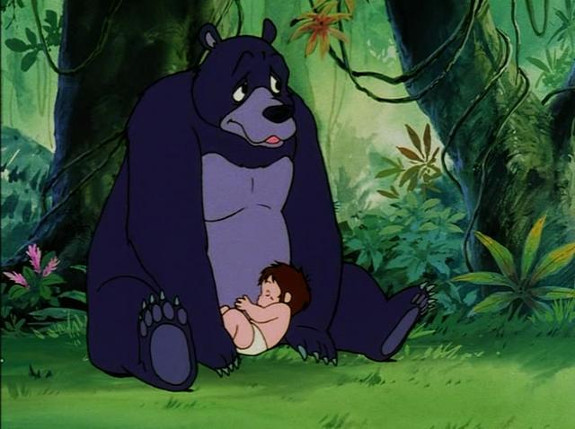 File:Baby Mowgli Sleeping on Baloo.png
