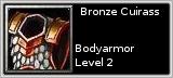 Bronze Cuirass quick short