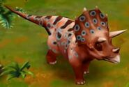 Triceratops (Adult) (Lvl. 35-40)