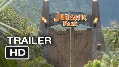 Jurassic Park 3D Official Trailer (2012) - Steven Spielberg Movie HD