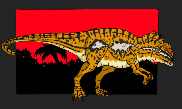 File:Jurassic Park Metriacanthosaur by hellraptor.jpg