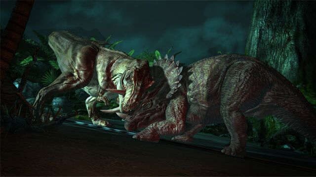 File:T-Rex vs Trike JP Telltale.jpg