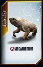 Megatherium card