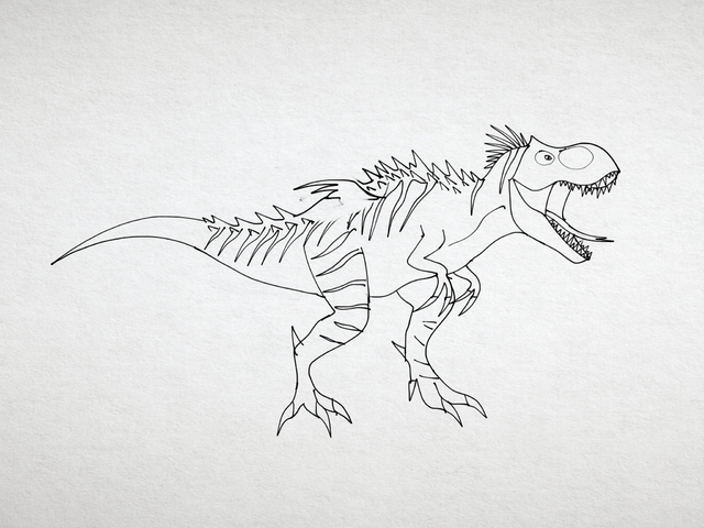 File:T. rex with tiny wings .png
