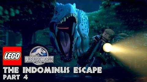 Part 4 LEGO® Jurassic World The Indominus Escape