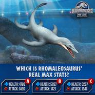 Rhomaleosaurus Stat Quiz