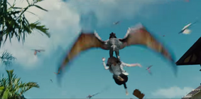 Pteranodon Carries Away A Visitor
