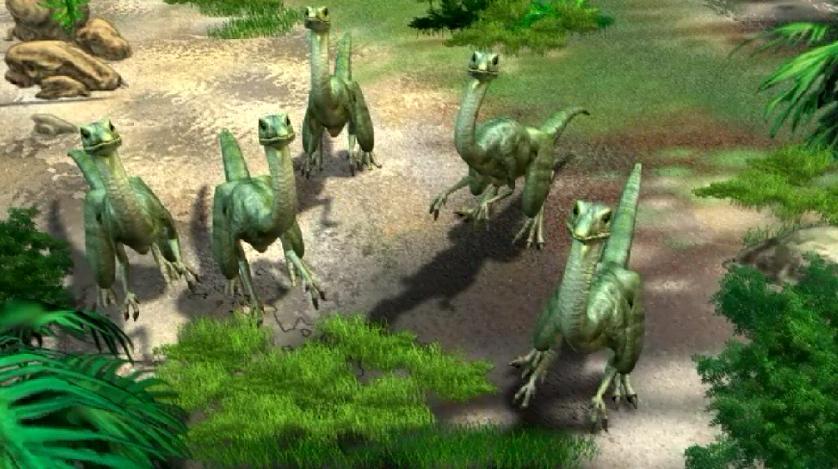 Image - Compsognathus ...