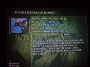 Pachycephalosaurus' info in JPOG