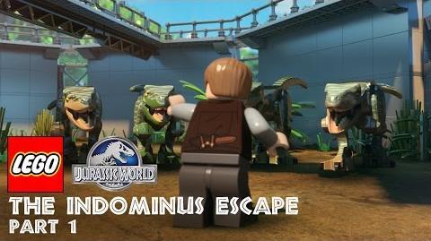 LEGO Jurassic World The Indominus Escape (Part 1)