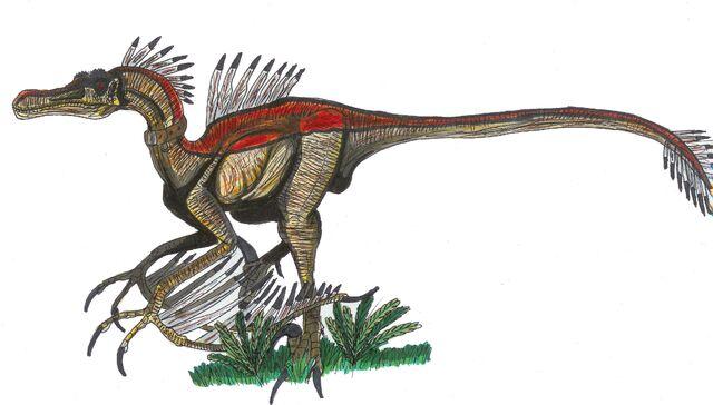 File:Jurassic Park Velocipteryx by hellraptor.jpg