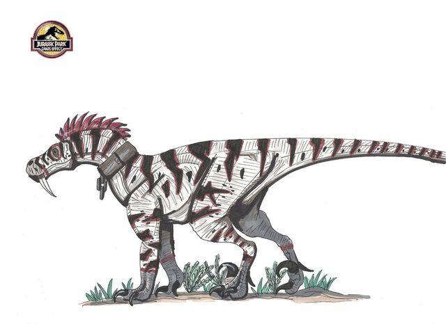 File:Chaos effect lycaraptor by hellraptor-d3b9bi7.jpg