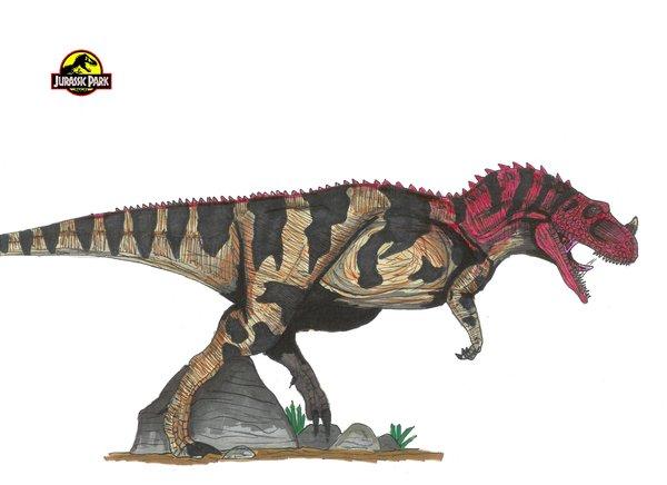 File:Jurassic Park Ceratosaurus by hellraptor.jpg