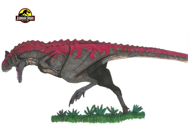 File:Jurassic Park Carnotaurus by hellraptor.jpg