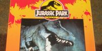 "Jurassic Park ""A Big Color/Activity Book"""