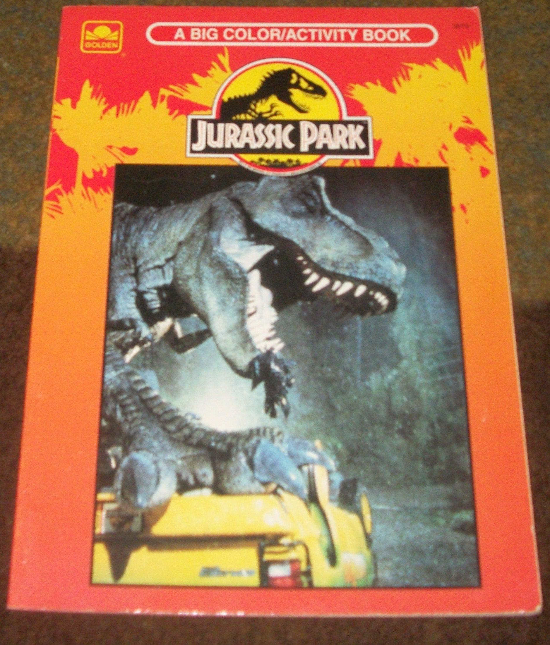 Colouring in jurassic park - Jurassic Park A Big Color Activity Book Jurassic Park Wiki Fandom Powered By Wikia
