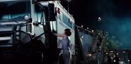 Claire enters vet truck 2