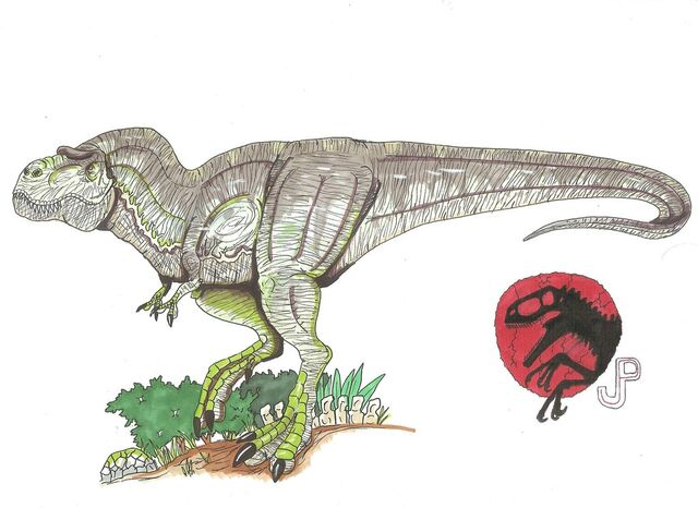 File:Jp tyrannosaurus rex by hellraptor-d61u7n6.jpg