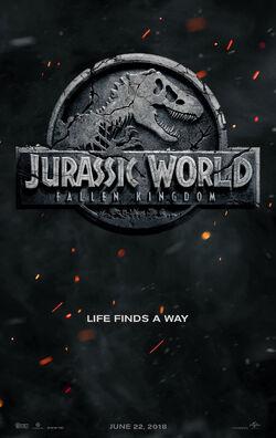 Jurassic World II Teaser Poster