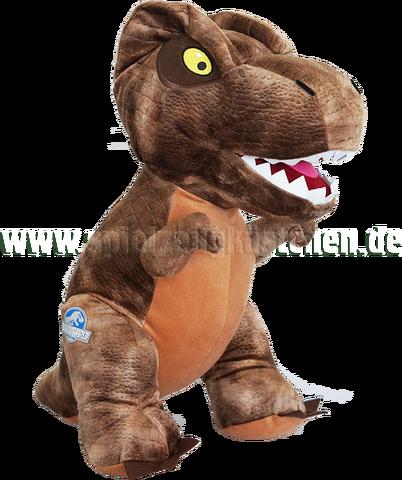 File:Jurrasic world stofftier plsch figur dinosaurier tyrannosaurus rex jurassic park braun xl szk.png