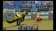 Jurassic Park Builder Dinosaurs Feature Battles Edmontosaurus
