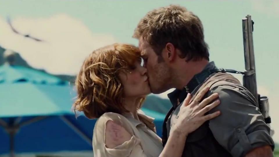 Image result for Jurassic world kiss