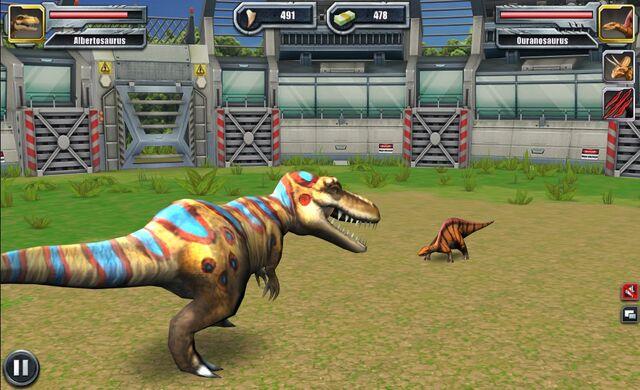 File:Jurassic Park Builder Battle Arena Albertosaurus1621 Nov. 03, 2015.jpg