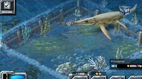Jurassic Park Builder - Pliosaurus Aquatic Park Limited