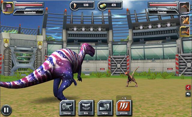 File:Jurassic Park Builder Battle Arena Ouranosaurus9 Nov. 03, 2015.jpg
