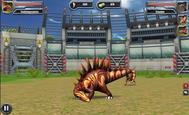 File:Jurassic Park Builder Battle Arena Tuojiangosaurus1633 Nov. 03, 2015 (6).jpg