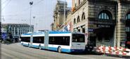 Zurich trolleybus