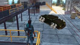 MV hover conversion (in garage)