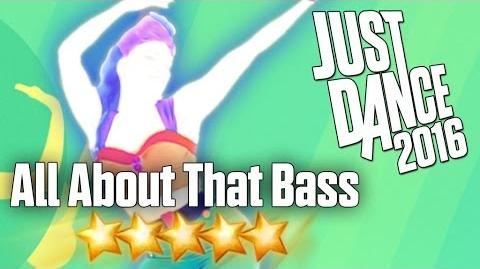 Just Dance 2016 - All About That Bass - 5 stars