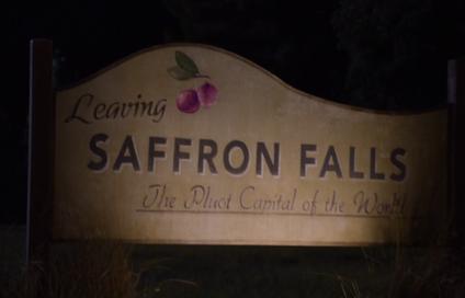 Leaving Saffron Falls