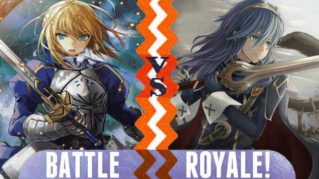 File:Battle Royale Saber vs Lucina.png