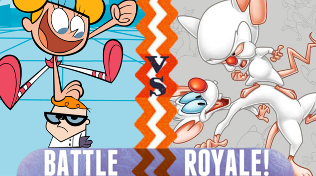File:Battle Royale Dexter and DeeDee VS Pinky and the Brain.png