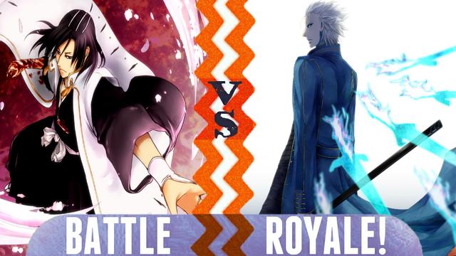 File:Battle Royale Byakuya Kuchiki vs Vergil.png